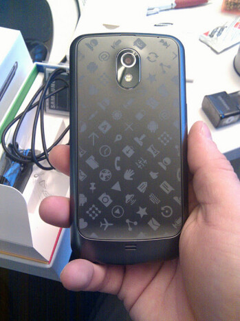 A special edition Galaxy Nexus for Google's employees
