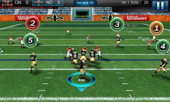 NFL Pro 2012 arrives on the Android Market