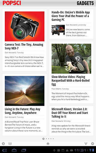 Google Currents gets its first update