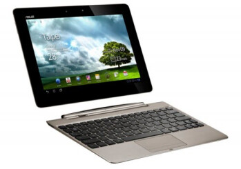 The Asus Transformer Prime with detachable QWERTY