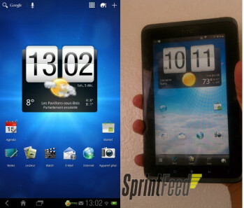 The HTC EVO View 4G for Sprint is getting updated to Honeycomb