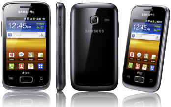 Samsung lifts the cover off its first dual-SIM smartphones: Galaxy Y Androids on budget