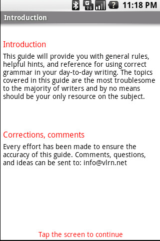 If you feel like you could use a refresher, feel free to check Grammar Guide out
