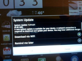 Two software updates for the Acer ICONIA TAB A500 packs the new Android Market and speed boosts