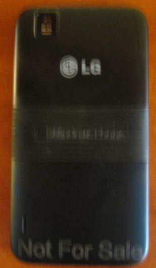 Photos of the LG Fantasy have been leaked, expected to arrive Q1 2012