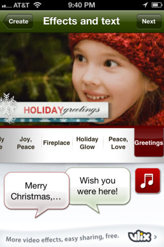 iOS & Android apps for Holiday cards