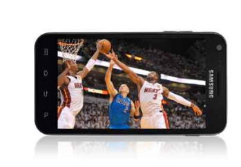Follow the NBA from your Sprint Android phone
