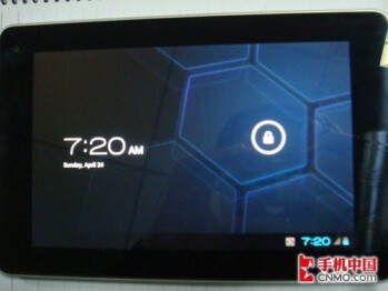 Leaked photos of the Huawei MediaPad running Android 4.0.1