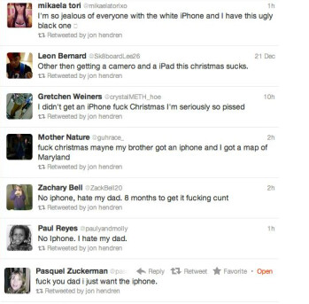 Here's the only person in the world who didn't get an iPhone for Christmas