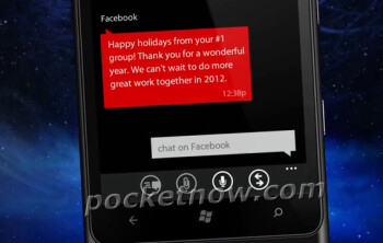 Nokia 900 a.k.a Ace accidentally pictured on Christmas cards?