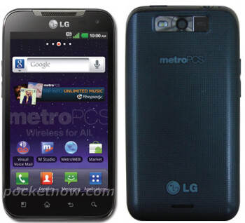 LG Connect 4G is revving to be an LTE Android powered smartphone for MetroPCS?
