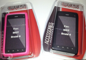 Cases for the unannounced Motorola DROID 4 have been spotted at some stores