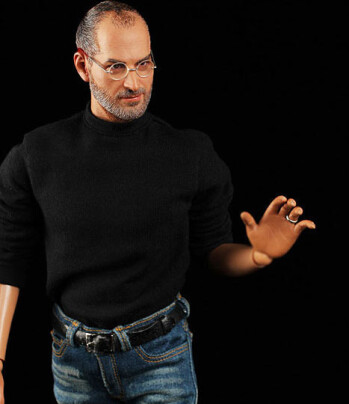 Bring your iPhone fandom to new levels of creepy with the new Steve Jobs action figure