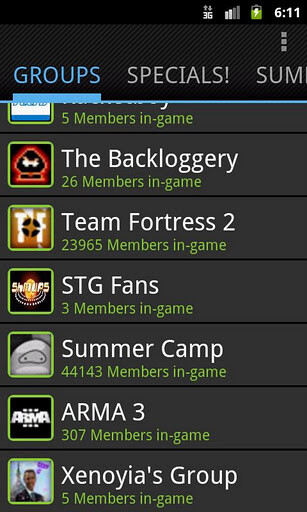 Steam for Android app brings the Steam Community to your fingertips