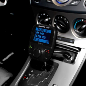 Satechi's Soundfly View Bluetooth FM transmitter offers hands-free calling and wirelessly streaming