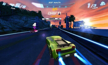 Asphalt 6 Adrenaline HD for the BlackBerry PlayBook is priced at $0.99 for a limited time