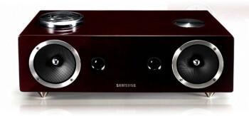 Samsung DA-E750 audio dock with vacuum tube amp