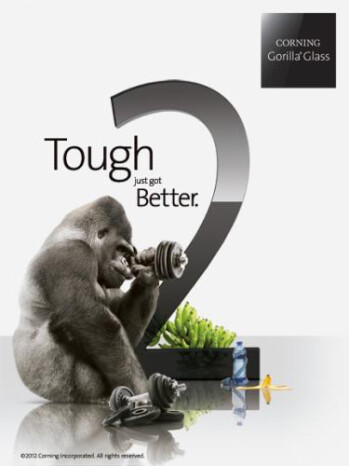 Gorilla Glass 2 is coming to CES