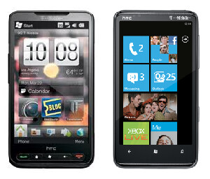 HTC HD2  and HTC HD7