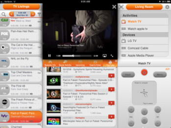 Dijit's universal remote app gets a fuller looking makeover for the iPad