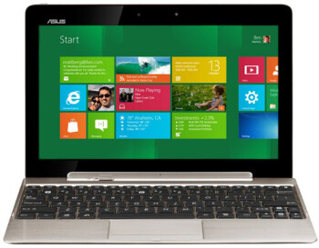 A rendering of the Windows 8 tablet being produced by Asus
