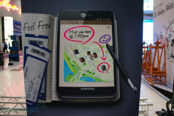Another confirmation that the Samsung GALAXY Note is coming to AT&T