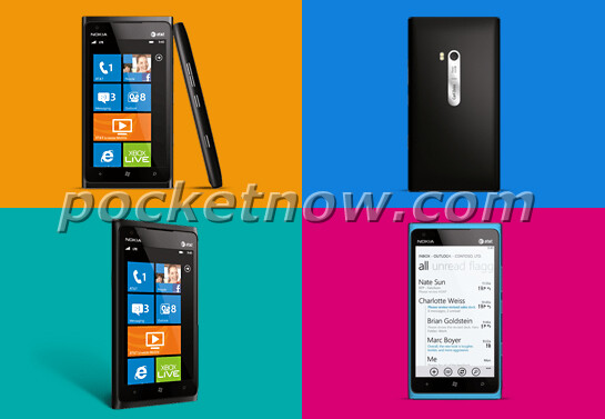 Official press images of the Nokia Lumia 900 for AT&T - Press shots of the Nokia Lumia 900 leak, announcement seems imminent