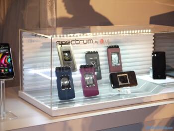 LG Spectrum for Verizon: live images
