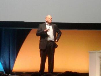 Steve Ballmer - Microsoft - CEOs announcing/teasing first LTE Windows Phones