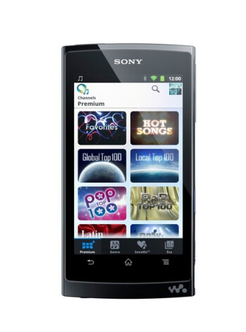 Sony announces its Walkman Z Android PMP for the U.S.