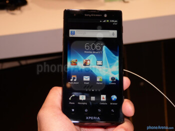 Sony Xperia ion hands-on