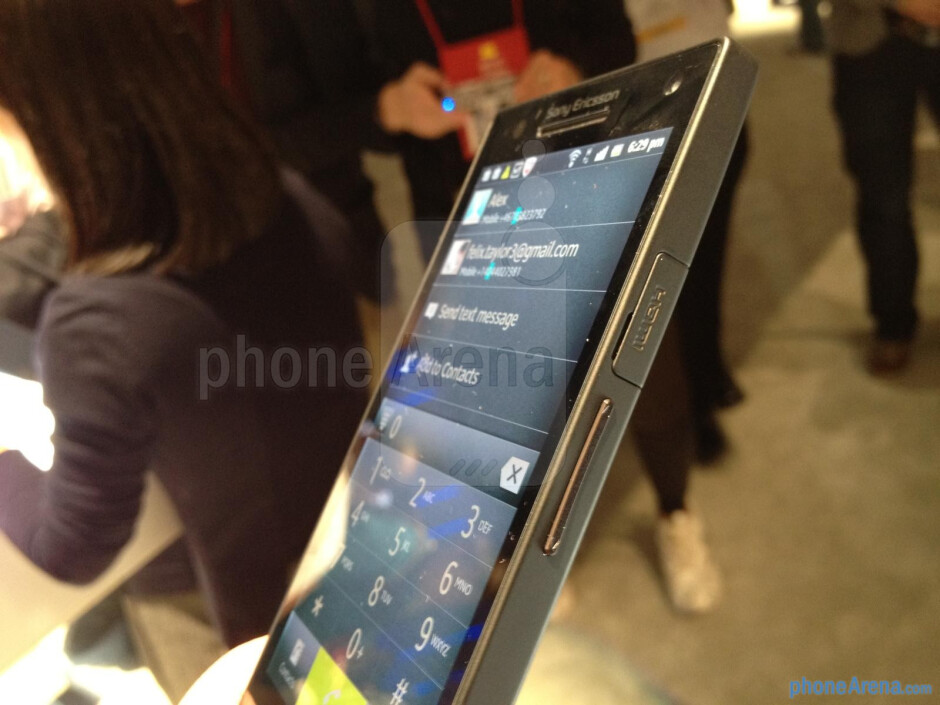 Sony Xperia S hands-on