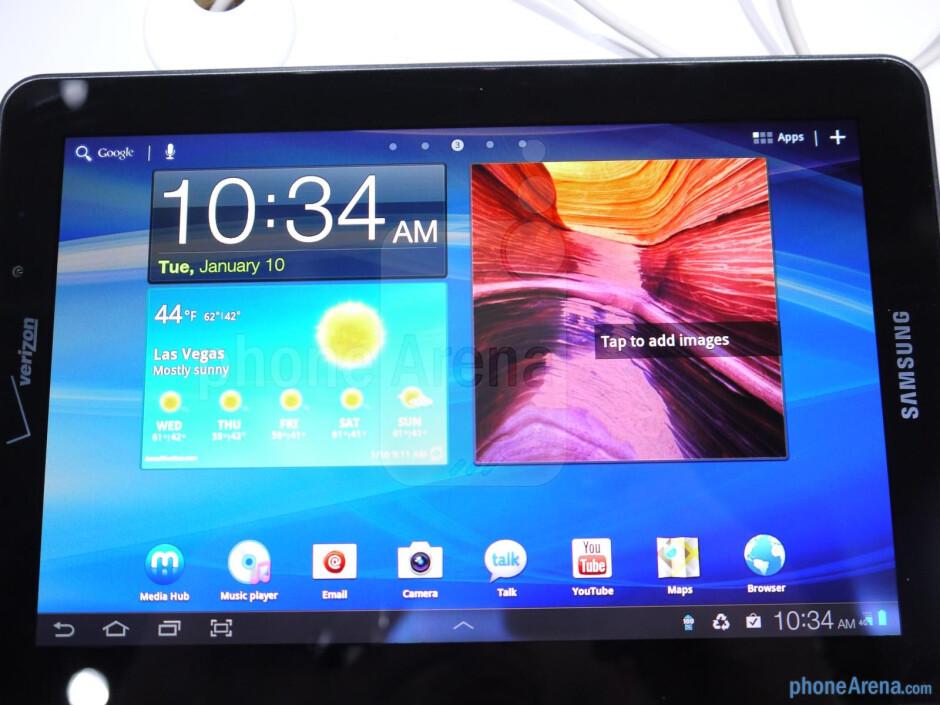 Samsung Galaxy Tab 7.7 LTE hands-on