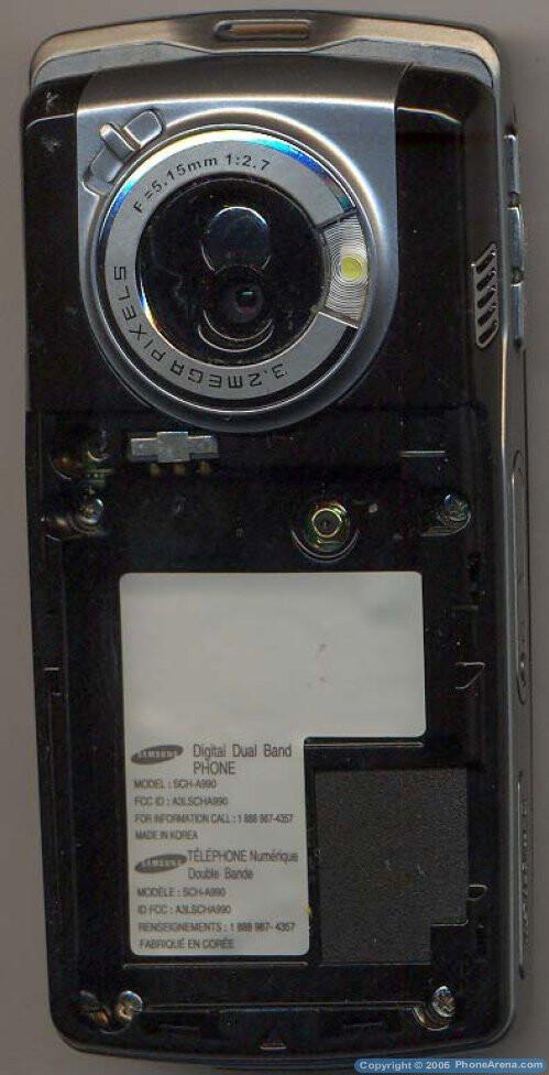 Samsung SCH-A990 - a high-end cameraphone for Verizon