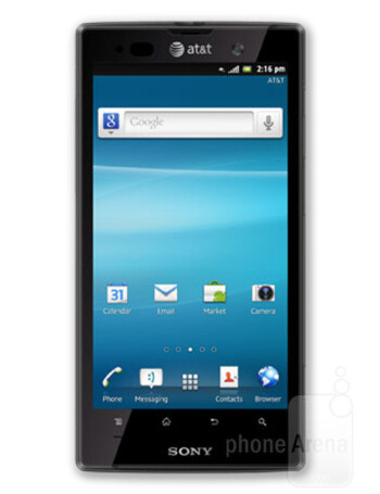 Sony Xperia ion, an AT&T exclusive