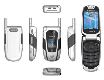 First images of the iDEN/CDMA dual-mode and RAZR-like iDEN phones