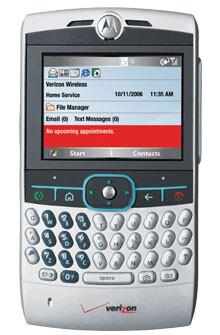 Motorola Q shows up on the Verizon' site