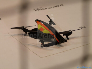 Parrot AR.Drone 2.0 demonstration