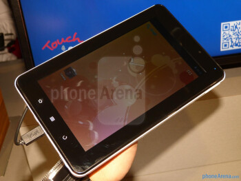 ViewSonic ViewPad E70 hands-on