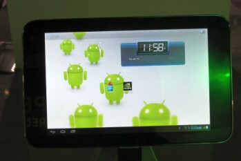 "ZTE shows off 7"" Tegra 3 tablet"