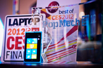 The Nokia Lumia 900 won plenty of awards at CES 2012