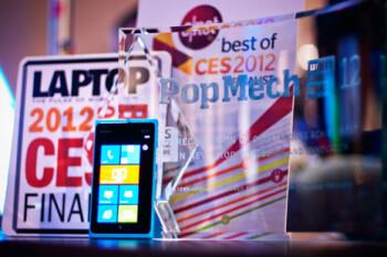 The Nokia Lumia 900 won plenty of awards at CES 2012