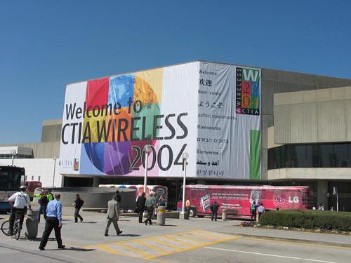 CTIA Wireless 2004 LIVE coverage