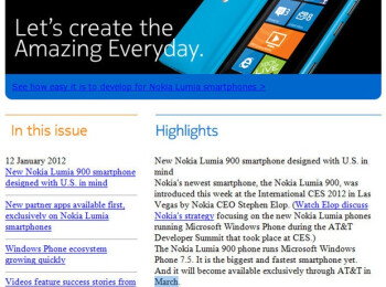 The Nokia Lumia 900 release date may be in March