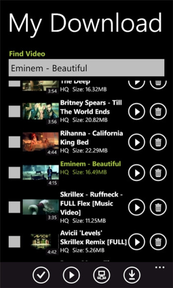 YouTube Pro for Windows Phone