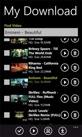 YouTube Pro for Windows Phone