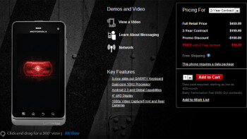 Motorola DROID 3 drops to $99.99, makes you really wonder how much the DROID 4 will cost