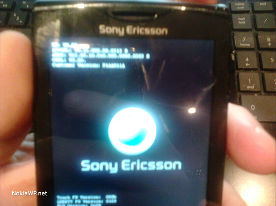 Pictures of a Windows Phone prototype for Sony - Images of Sony Ericsson Windows Phone prototype come to light