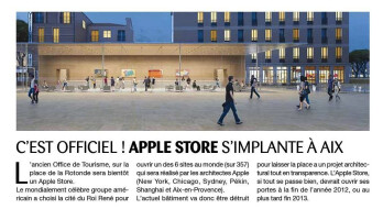 Futuristic see-through Apple Store being developed this year in France