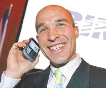Jim Balsillie talking with an acquirer?